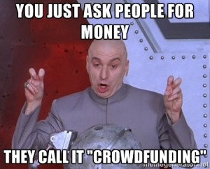 They Call It Music Crowdfunding