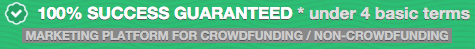 green inbox crowdfunding guarantee